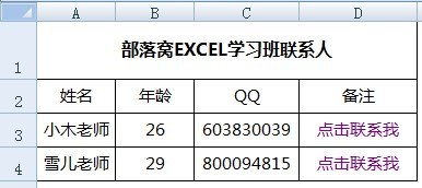 excel hyperlink函数